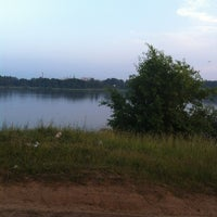 Photo taken at Лунское озеро by Мария М. on 6/26/2013