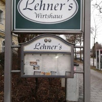 Photo taken at Lehner's Wirtshaus by Wolfgang L. on 1/10/2013