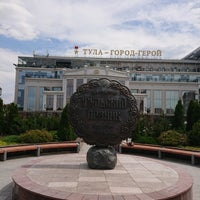 Photo taken at Памятник прянику by Peter B. on 6/29/2018