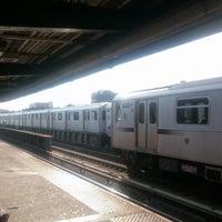 Photo taken at MTA Subway - 33rd St/Rawson St (7) by Peter B. on 10/7/2017