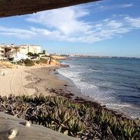 Photo taken at Calas de Rocamar by Visit P. on 11/19/2013