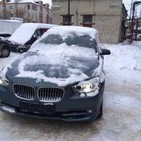 Photo taken at Автомойка by Vitaliy B. on 1/31/2014