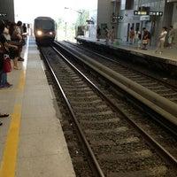 Photo taken at 地铁西二旗站 Subway Xi'erqi by Евгений М. on 9/7/2013