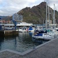 Photo taken at Real Club Náutico de Tenerife by Juan Carlos C. on 4/9/2013