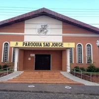 Photo taken at Igreja São Jorge by Pedro Henrique S. on 4/26/2014