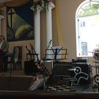 Photo taken at Iglesia Presbiteriana DOMVS DEI by Hernan R. on 3/10/2013