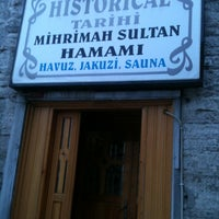 Photo taken at Mihrimah Sultan Hamamı by ULU ÖNDER Y. on 2/1/2013