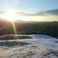 Photo taken at Blackford Hill by Peter P. on 2/9/2013