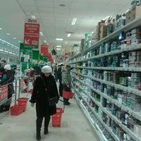 Photo taken at Ашан by николай т. on 1/11/2013