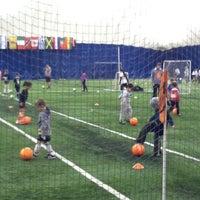 Photo taken at Soccer Centers by Larkjun P. on 12/16/2013