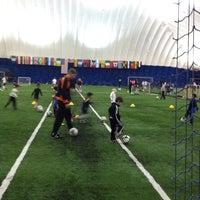 Photo taken at Soccer Centers by Larkjun P. on 12/9/2013