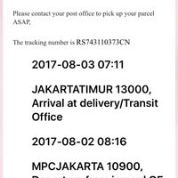Photo taken at Kantor Pos Jakarta Timur 13000 by Wiwin A. on 9/14/2017