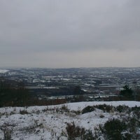 Photo taken at Wincobank Hill Fort by Alicia T. on 1/21/2013