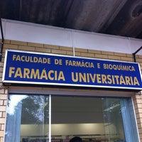 Photo taken at Farmácia Universitária by Thiago O. on 9/5/2013