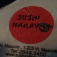 Photo taken at Sushi Nakay by Isabel Cristina N. on 7/20/2013