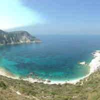 Photo taken at Παραλία Πετανοί by Mac G. on 8/30/2016