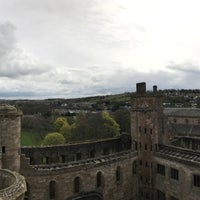 Photo taken at Linlithgow Palace by Niab T. on 4/14/2017