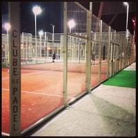 Photo taken at Clube de Padel by Joao G. on 4/17/2013