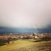 Photo taken at Blackford Hill by Hungju L. on 3/15/2013