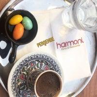 Photo taken at Harmoni Cafe&Pastane by Gamze Y. on 8/23/2018