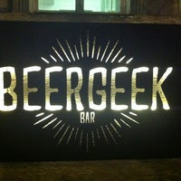 Photo taken at BeerGeek Bar by Iurii S. on 2/22/2015