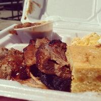 Photo taken at Alamo BBQ by Scott K. on 4/9/2013