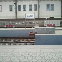 Photo taken at Ramsis Railway Station by Ziad M. on 2/8/2013
