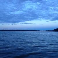 Photo taken at Eagle Lake by Bryan H. on 10/6/2013