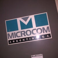 Photo taken at Microcom Arg.- Suc. Buenos Aires by Enrique E. on 1/14/2013