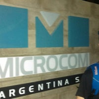 Photo taken at Microcom Arg.- Suc. Buenos Aires by Enrique E. on 1/24/2014
