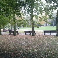 Photo taken at Zuidpark (Koning Albert I-park) by Ruben V. on 11/5/2012