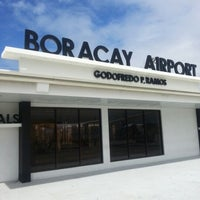 Photo taken at Godofredo P. Ramos Airport (Boracay Airport) / Caticlan Airport (MPH/RPVE) by Jondee J. on 12/13/2012
