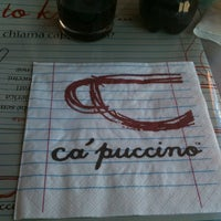 Photo taken at Ca' Puccino by Smartis on 3/21/2013