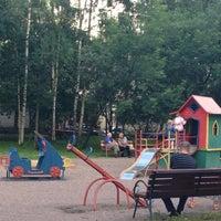 Photo taken at детская площадка by Евгения Д. on 8/2/2013