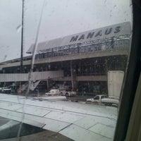 Photo taken at Aeroporto Internacional de Manaus / Eduardo Gomes (MAO) by Vanessa C. on 3/4/2013