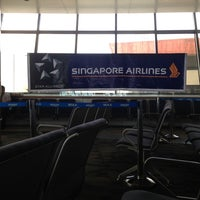 Photo taken at Singapore Airlines Check-in Counter by Alvin P. on 6/4/2013