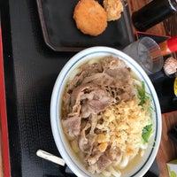 Photo taken at セルフうどん ふじい by 水城 史. on 4/15/2018