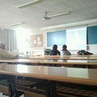 Photo taken at Facultade de Socioloxía by Iria C. on 4/10/2013