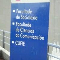 Photo taken at Facultade de Socioloxía by Iria C. on 4/8/2013