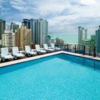 Photo taken at Atobá Praia Hotel by Darlan S. on 2/10/2013