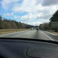 Photo taken at Interstate 85 Exit 154 by Mike A. on 3/2/2013