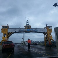 Photo taken at Woolwich Ferry by Arlene A. on 5/13/2013
