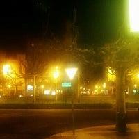 Photo taken at Plaza de la Inmaculada by Juanjo G. on 4/28/2013