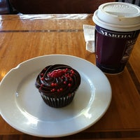 Photo taken at Martha & Bros. Coffee by Christy C. on 2/14/2013
