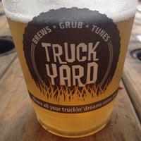 Photo taken at Truck Yard by John G. on 9/28/2013