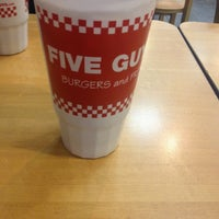 Photo taken at Five Guys by Lindsay S. on 2/28/2013