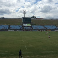 Photo taken at Toll Stadium by Georgia M. on 2/9/2013