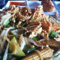 Photo taken at Pad Thai Noodle Lounge by Lord M. on 7/4/2013