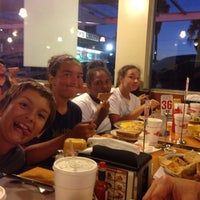 Photo taken at Tomy's Hamburgers by Randy T. on 7/16/2013