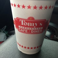 Photo taken at Tomy's Hamburgers by Randy T. on 1/25/2013